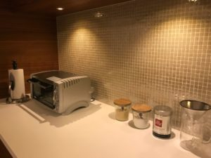 我が家のキッチン風景1