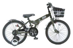 JEEP自転車オリーブ