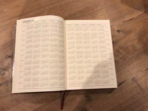 10年カレンダー